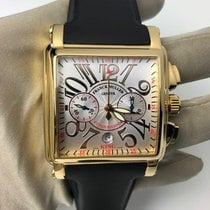 Franck Muller Yellow gold Chronograph Automatic 45mm Conquistador Cortez