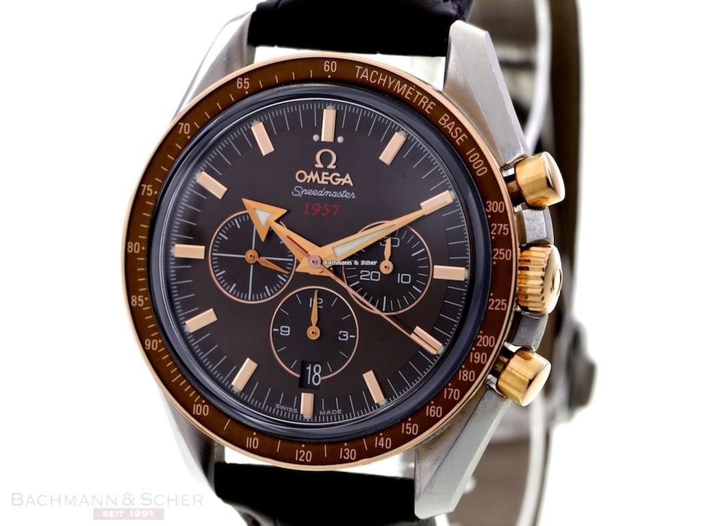 0dbf83f3493 Relógios Omega Speedmaster Broad Arrow usados