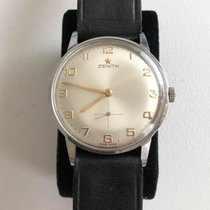 Zenith Steel 36mm Manual winding 078A322 pre-owned Finland, Turku