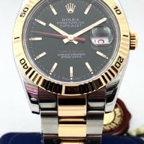 Rolex Datejust Turn-O-Graph Gold/Steel 36mm Black No numerals United States of America, New York, New York