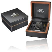 Festina Steel 44mm Quartz new