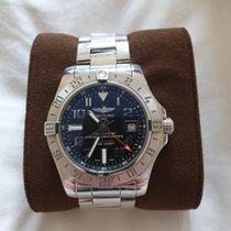 Breitling Avenger II GMT Steel Black Arabic numerals United Kingdom, dereham