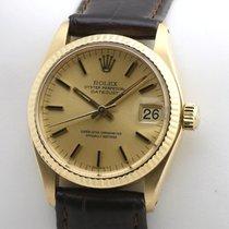Rolex Datejust Κίτρινο χρυσό 30mm Χρυσό Xωρίς ψηφία