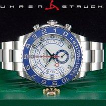 Rolex Yacht-Master II Stahl 44mm Weiß Keine Ziffern Deutschland, Essen