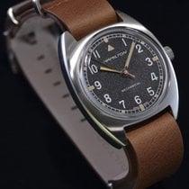 Hamilton Khaki Pilot Pioneer Zeljezo 36mm Crn Arapski brojevi