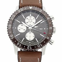 Breitling Chronoliner Steel 45mm Bronze No numerals United States of America, New York, New York