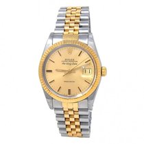 Rolex Air King Date Gold/Steel 34mm Champagne United States of America, New York, New York