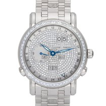 Ulysse Nardin GMT +/- Perpetual 320-82 Very good White gold 40mm Automatic
