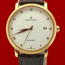 Blancpain Rosa guld 38mm Automatisk 6223-3642-55 brugt