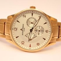Jacques Lemans new Quartz Small Seconds 40mm Red gold Mineral Glass