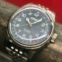 Oris Big Crown Pointer Date Zeljezo 40mm Plav-modar