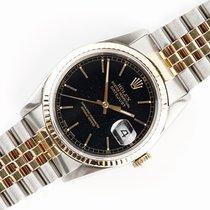 Rolex 16233 Goud/Staal 1990 Datejust 36mm tweedehands Nederland, Opmeer