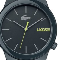 Lacoste Plastic Quartz Green 41mm new
