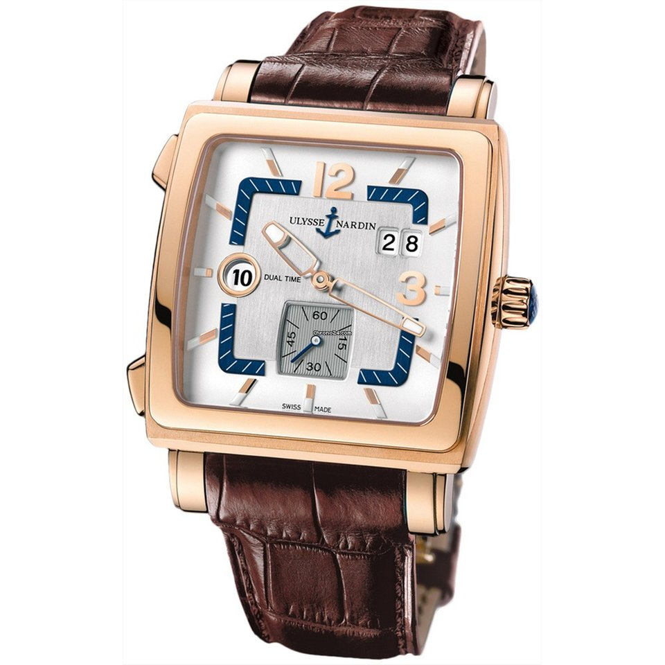 Ulysse Nardin Quadrato Dual Time 246-92/600 pre-owned
