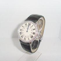 Cartier Ronde Louis Cartier Weißgold 36mm Silber Römisch Deutschland, Karlsruhe