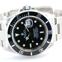 Rolex Submariner Date Stainless Steel Black Dial-16610