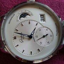 Glashütte Original PanoMaticLunar 1-90-02-42-32-24 Glashutte PanoMaticLunar Quadrante Acciaio nouveau