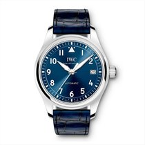 IWC Pilot's Watch Automatic 36 Steel 36mm Blue Arabic numerals United States of America, Pennsylvania, Holland