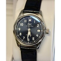 IWC Pilot's Watch Automatic 36 IW324008 IWC Pilot's Data Acciaio Blu Pelle new
