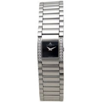 Baume & Mercier mv025200 catwalk 21 mm quartz diamant acier watch