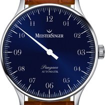 Meistersinger new Automatic Display Back One-hand watches 40mm Steel Sapphire Glass