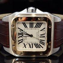 Cartier 2012 Santos 100, Just serviced, 2878, W20107X7, Box &...