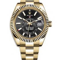 Rolex new Automatic 42mm Yellow gold Sapphire Glass