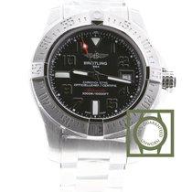 Breitling Chronomat Avenger II Seawolf Volcano Black Dial Full...