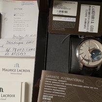 Maurice Lacroix Pontos Décentrique GMT nieuw 43mm Staal