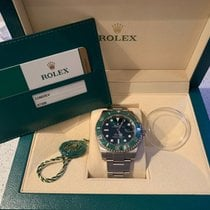 Rolex Submariner Date 116610LV Hulk Box & Papers (London)