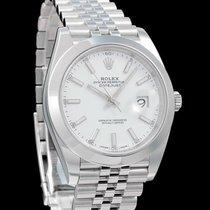 Rolex Datejust II 41mm, Jubilee-Band helles Zifferblatt, 126300