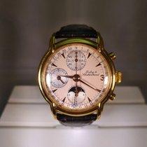 Dubey & Schaldenbrand Chronograph 37mm Automatik 1996 gebraucht Champagnerfarben
