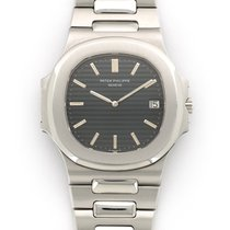 Patek Philippe Nautilus Jumbo Watch Ref. 3700 with Original...