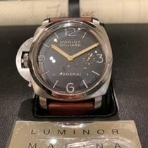 Panerai 47mm Manual winding 2006 pre-owned Special Editions Black