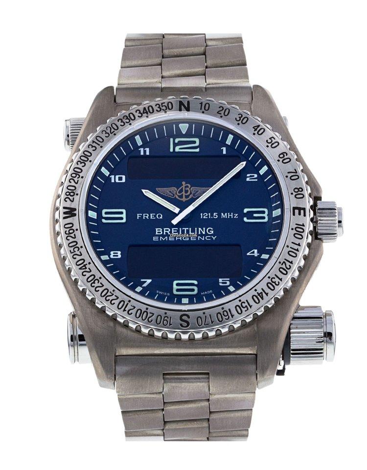 847ed6cdafd Breitling Emergency - Todos os preços de relógios Breitling Emergency na  Chrono24