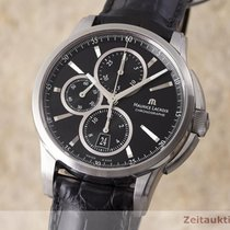Maurice Lacroix Pontos Chronographe gebraucht 42.5mm Stahl