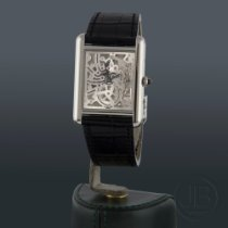 Cartier Platinum Manual winding 39.2mm pre-owned Tank Louis Cartier