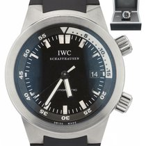 IWC Aquatimer Automatic Steel 42mm Black United States of America, New York, Massapequa Park