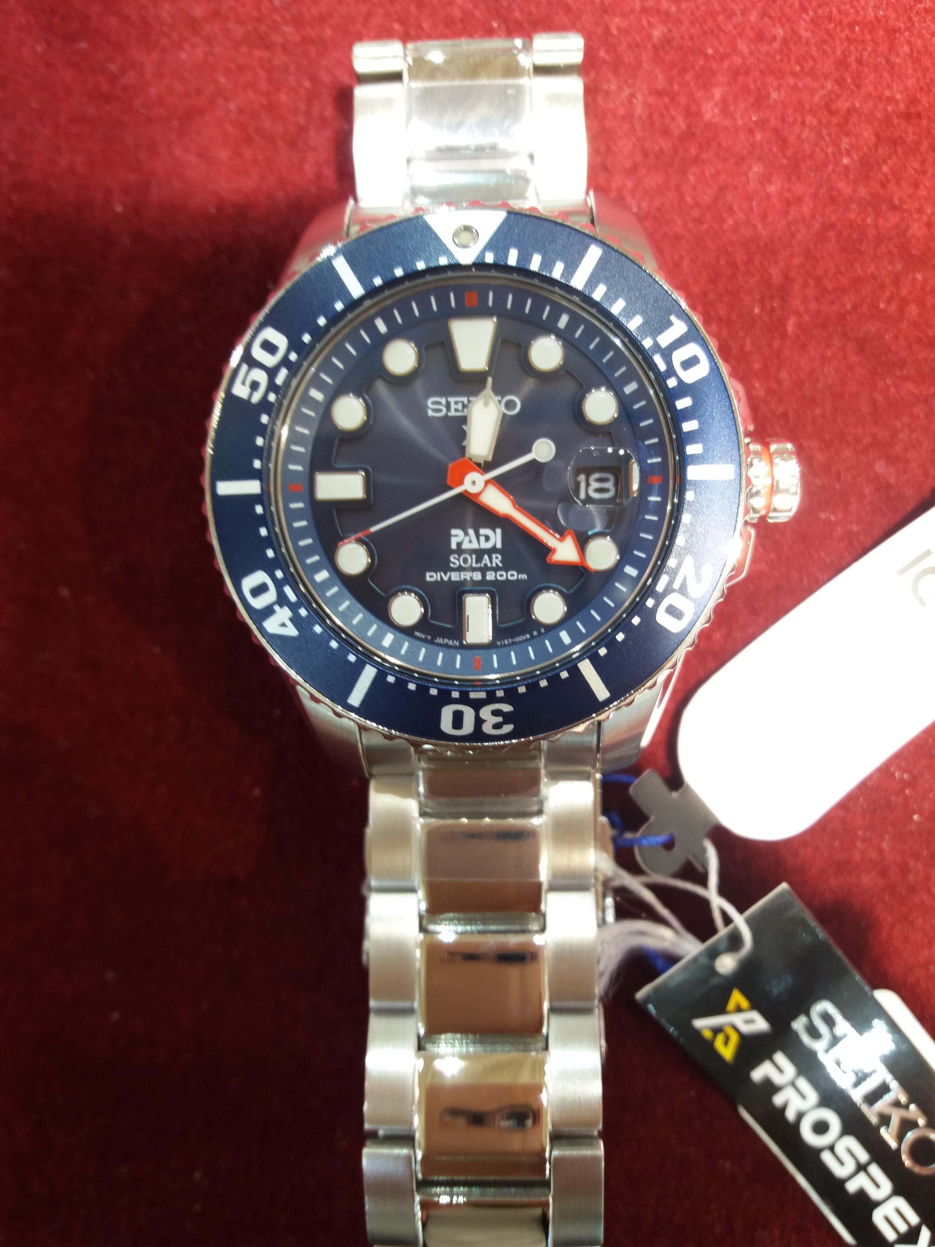 6c0fd640 Seiko Reloj Seiko sne435p1 Padi Prospex colección Mar hombre... en venta  por 340 € por parte de un Vendedor privado de Chrono24