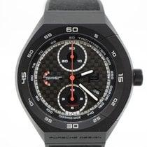 Porsche Design Monobloc Actuator Titanium 45,5mm Black Arabic numerals
