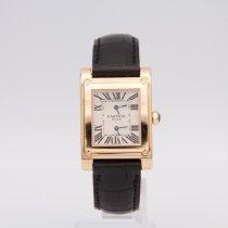 Cartier nuevo Cuerda manual 32mm Oro rosado