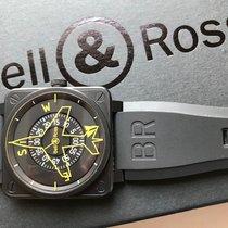 Bell & Ross Steel Manual winding Black Arabic numerals 43mm new BR 01-92