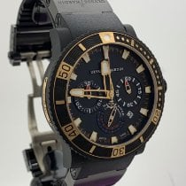 Ulysse Nardin Diver Black Sea Сталь 45mm Чёрный Без цифр