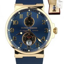 Ulysse Nardin Marine Chronometer 41mm Rose gold 41mm Blue United States of America, New York, Lynbrook