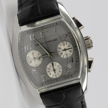 Girard Perregaux Platinum Automatic Grey 37mm pre-owned Richeville