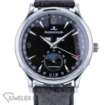 Jaeger-LeCoultre Master Calendar pre-owned 37mm Black Leather