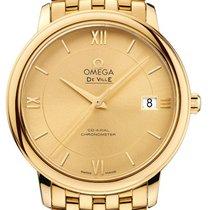 Omega De Ville Prestige Oro amarillo 36.8mm Champán