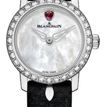 Blancpain Women White gold 21.5mm Mother of pearl