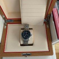 Omega Céramique Remontage automatique Bleu Sans chiffres 41mm occasion Seamaster Diver 300 M