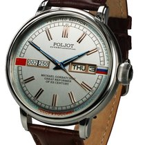 Poljot Gorbatchev Gorbatchov 2427.1546511 New Steel 43mm Automatic